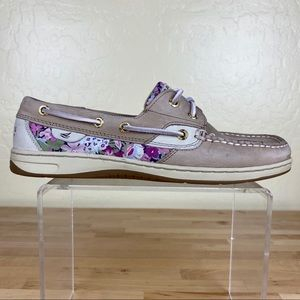 Sperry Bluefish Boat Shoes Liberty Art Floral